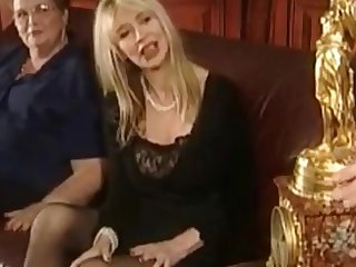Innovative Vintage DP Anal Water Sports Milfs Pt 3
