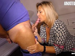 AMATEUR EURO - Beamy Dabbler Maria Gets Their way Mature Pussy Drilled Good