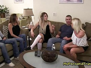 The Slutty Niece Leads Their way Grounding to an Orgy