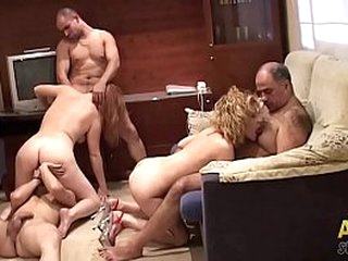 Amateur orgy in family. Part.3 be advantageous to 3