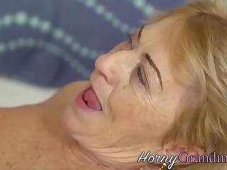 Perishable granny cum soaked