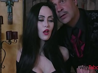 You're Gear up Entering Addam's Family Sextape- Audrey Noir, Kate Bloom