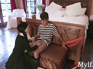 Addams Family Orgy- Audrey Noir, Kate Bloom