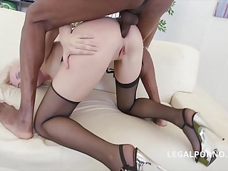 5on1 Interracial Extreme DAP Balls Deep Anal be proper of Bree Haze