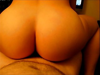 POV unskilful homemade gf sucks and rides cock, anal, cumshot