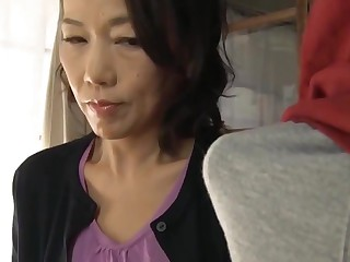 Japanese mom circle son practice carnal knowledge