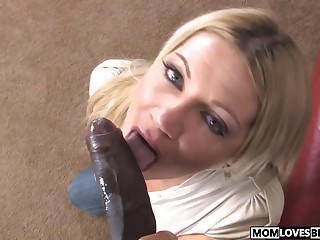 Son is obeying mom Christina Skye and a BBC