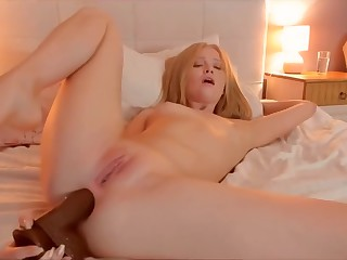 Perfect anal dildo ass to mouth gorgeous gape