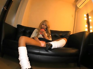 Japanese Gyaru Schoolgirls Relating to Phoebus Apollo Facing and Makeup Showing Upskirt Panty Shots