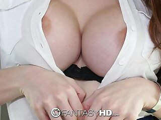 FantasyHD - Former Ditch Street give one's word Veronica Show-off is a squirting skilful