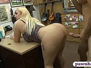 Sylvia Garza big ass paying to hand pawnshop