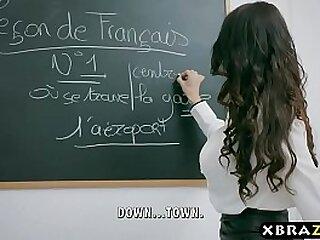 Hardcore bonk with teacher