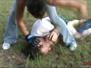 Beatdown be advisable for Love - Original Alfresco Fight by Danica