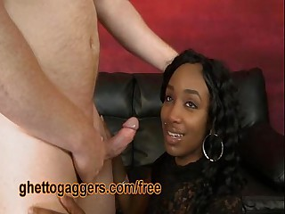 Black Stripper Goes Keenly Ashen Dicks